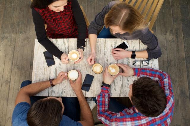 ネイティブのカフェでの会話
